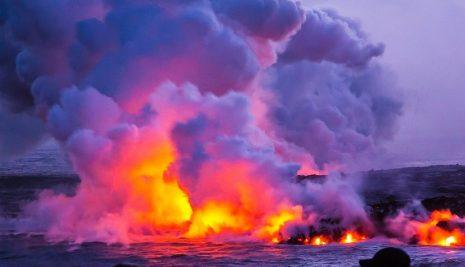 تفسير حلم رؤية البركان ثائر أو دخان البراكين في المنام